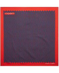 Turnbull & Asser - Flower Mosaic Pocket Square - Lyst