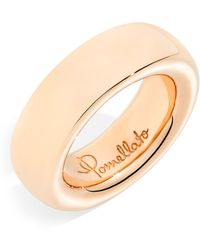 Pomellato - Narrow Rose Gold Iconica Ring - Lyst