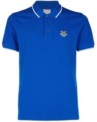 KENZO - Tiger Polo Shirt - Lyst