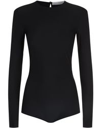 Victoria Beckham - Stretch Long Sleeve Body - Lyst