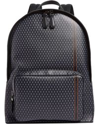 Dunhill - Engine Turn Print Backpack - Lyst