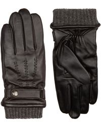 Dents - Touchscreen Leather Gloves - Lyst