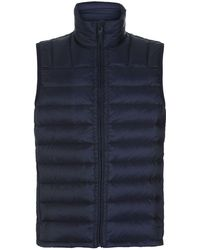 Dunhill - Quilted Down Gilet - Lyst