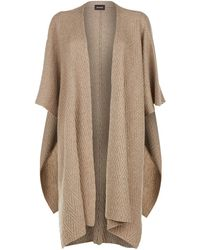 Eskandar - Knitted Cashmere Tabard Cardigan - Lyst