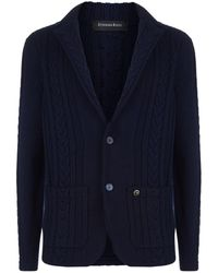 Stefano Ricci - Cashmere Cable Knit Cardigan - Lyst