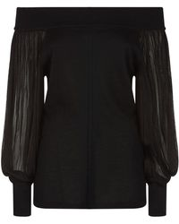 Amanda Wakeley | Knightley Cashmere Sweater, Black, Xs | Lyst