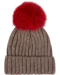 Harrods - Bobble Hat - Lyst