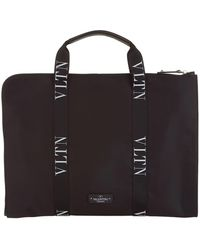 Valentino - Vltn Document Case - Lyst
