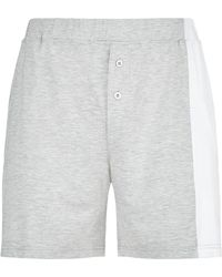 Homebody - Colour Block Lounge Shorts - Lyst