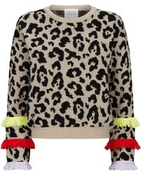 Hayley Menzies - Sahara Leopard Print Jumper - Lyst