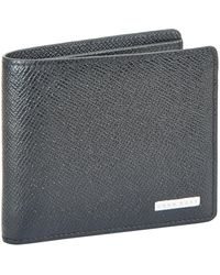 BOSS - Signature Leather Bifold Wallet - Lyst