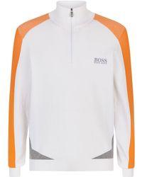 BOSS Green - Zelchior High Neck Sweater - Lyst