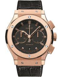 Hublot - Classic Fusion 45mm Chronograph King Gold Watch - Lyst