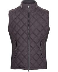 Hackett - Quilted Gilet - Lyst