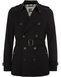 Burberry - Kensington Short Heritage Trench Coat - Lyst