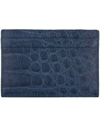 Nancy Gonzalez - Crocodile Skin Card Holder - Lyst