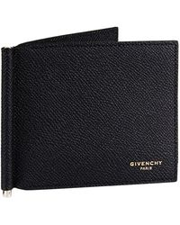 Givenchy - Grained Leather Money Clip - Lyst