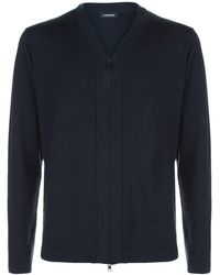 J.Lindeberg | Wool-blend Cardigan | Lyst