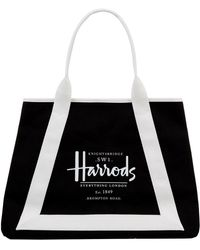 Harrods - Anglesey Logo Shoulder Bag - Lyst