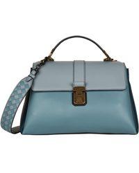 Bottega Veneta - Medium Piazza Top Handle Bag - Lyst 4eeea406c8567