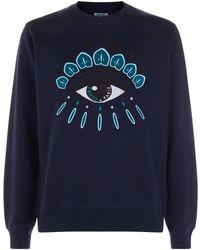 KENZO - Icon Eye Sweatshirt - Lyst
