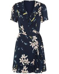 PAIGE - Cardamom Sketched Orchid Dress - Lyst
