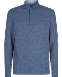 Corneliani - Long Sleeved Polo Shirt - Lyst