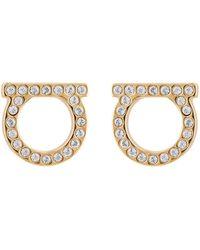 Ferragamo - Gancini Earrings - Lyst