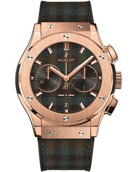 Hublot - Classic Fusion Italia Independent Tartan Chronograph Watch 45mm - Lyst
