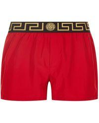 Versace - Iconic Greca Medusa Swim Shorts - Lyst