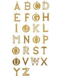 Chloé - Alphabet Charm - Lyst