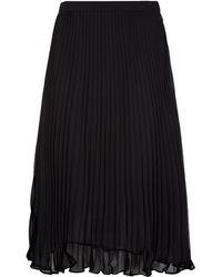 Polo Ralph Lauren - Pleated Midi Skirt - Lyst