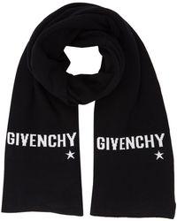 Givenchy - Logo Intarsia Scarf - Lyst