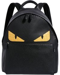 Fendi - Bag Bugs Leather Backpack - Lyst