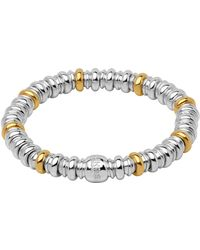 Links of London - Sterling Silver And Yellow Gold Sweetheart Bracelet - Lyst