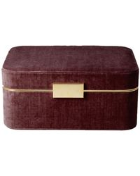 Aerin - Beauvais Velvet Jewellery Box - Lyst