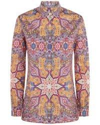Etro - Paisley Shirt - Lyst