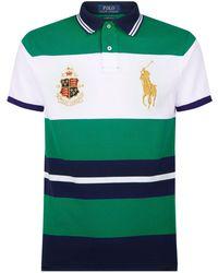 Polo Ralph Lauren - Custom Slim Fit Mesh Polo - Lyst