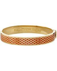 Halcyon Days - Gold Salamander Bangle - Lyst