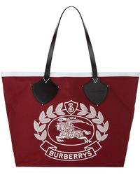 Burberry - Archive Logo Tote Bag - Lyst