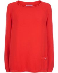 Barbour - Pembrey Knitted Cotton Jumper - Lyst