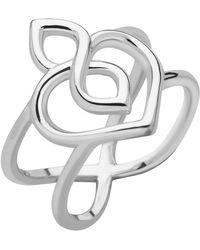 Links of London - Sterling Silver Infinite Love Ring - Lyst