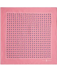 Polo Ralph Lauren - Bandana Print Pocket Square - Lyst