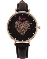 Harrods - Icon Heart Watch - Lyst