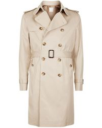 Sandro - Belted Trench Coat - Lyst