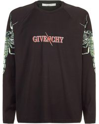 Givenchy - Scorpio Long Sleeved T-shirt - Lyst