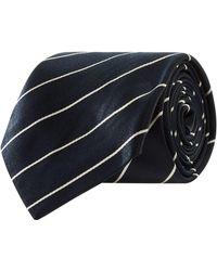 Ralph Lauren - Satin Stripe Tie - Lyst