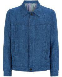 A Kind Of Guise - Jambi Chambray Linen Jacket - Lyst