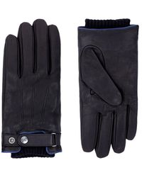 Armani Jeans - Leather Gloves - Lyst