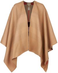 Burberry - Reversible House Check Cape - Lyst